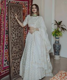 Top 15 Designer Bridal Lehenga for Wedding - Fashion Girls Party Wear Indian Dresses, Indian Gowns Dresses, Indian Bridal Outfits, Dress Indian Style, Indian Fashion Dresses, Indian Designer Outfits, Designer Dresses, Indian Wedding Gowns, Wedding Dresses