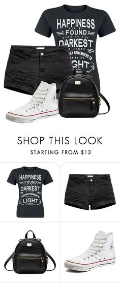 """Untitled #864"" by vaniadenisse16 ❤ liked on Polyvore featuring Converse"