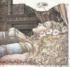 Roberto Innocenti - Sleeping Beauty