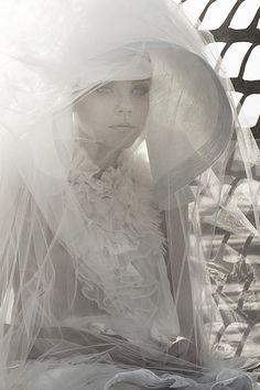 "Jessica Stam in ""Coming Up Roses"" by Sølve Sundsbø | Harper's Bazaar"