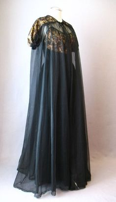 ~Early 1950s peignoir set by Gotham Gold Stripe~ Clothing, Shoes & Jewelry - Women - Lingerie, Sleepwear & Loungewear - http://amzn.to/2kMZiFM
