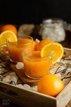 mach es dir gemütlich Dekokugeln Orange Bubble