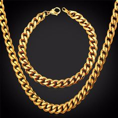 Jewel Town Mens 14kt Yellow Gold Plated Width 5 6 8 10mm Concave Cuban Link Chain Necklace