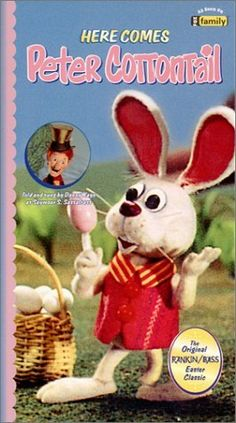 Here Comes Peter Cottontail movie (1971), Rankin-Bass production.