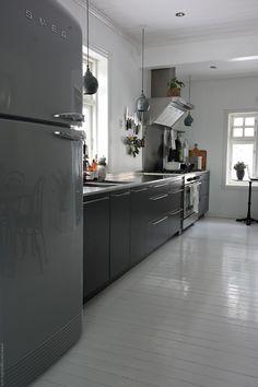 Det hvite lyset - på kjøkkenet