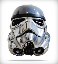 Art Wars: Famous Artists Remix the Famous Star Wars Storm Trooper Helmet (