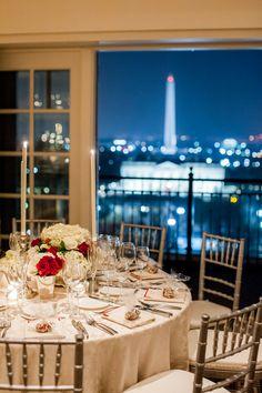 Hay-Adams Hotel, DC Wedding Venue, White House View #hayadamshotel #dcvenue