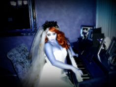 corpse bride playing Piano