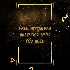 Here are some of the best free Instagram analytics apps, so you can focus your money and efforts on the Instagram content itself: 1) Instagram Insights 2)Iconosquare 3)Squarelovin 4)Crowdfire 5)Pixlee 6)Union Metrics 7)Socialbakers . . . #socialmediamanager #socialmediamarketing #freelancer #socialmediastrategy #socialmediatips #socialmediatools #socialmedia #digitalmarketing Social Media Tips, Social Media Marketing, Digital Marketing, Instagram Insights, Free Instagram, Effort, Apps, Community, Content