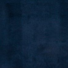 Navy Solid Faux Suede