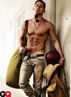 if i woke up from a coma and channing tatum said he was my husband... i wouldnt question him... just sayin