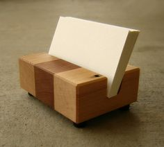 Business Card Holders Reclaimed Wood Upcycled by andrewsreclaimed