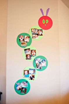 The Very Hungry Caterpillar 1st Birthday! | CatchMyParty.com