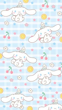 """blue & checkered """"Cute Moments"""""""