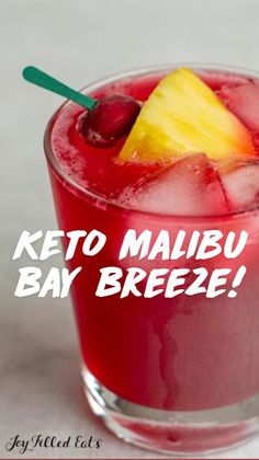 Ketogenic Recipes, Ketogenic Diet, Low Carb Recipes, Low Carb Cocktails, Cocktail Recipes, Yummy Drinks, Healthy Drinks, Happy Drink, Keto Drink
