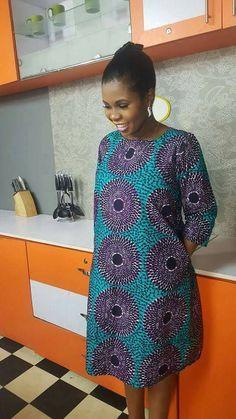 Robe à imprimé africain pour les dames par Kofijerryoutfit sur Etsy