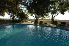 Swimming pool at Kafunta River Lodge