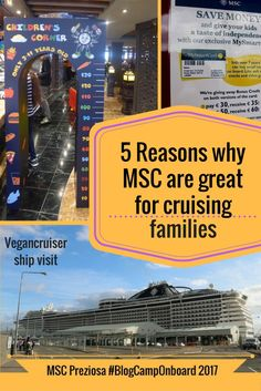 I don't usually blog about family cruising, but MSC Preziosa #BlogCampOnboard taught me MSC are great for families. See my 5 reasons why I think they are!