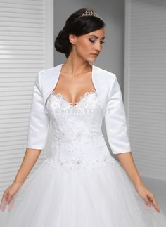 wedding jacket satin bolero 3/4 - Szukaj w Google
