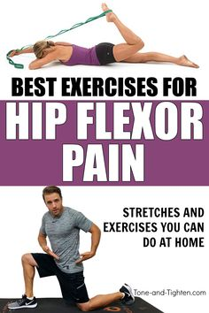 Best Exercises For Hip Flexor Pain – From a Physical Therapist best exercises for hip pain hip flexor exercises Hip Strengthening Exercises, Hip Flexor Exercises, Back Exercises, Stretches For Hip Flexors, Best Hip Stretches, Hip Stretching Exercises, Exercises For Hamstrings, Fascia Stretching, Hamstring Stretches