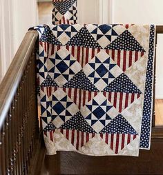 IN HONOR OF . digital pattern from Fons & Porter. Designed by Diane Tomlinson for Quilt of Valor. Big Block Quilts, Star Quilts, Quilt Block Patterns, Quilt Blocks, Mini Quilts, Canvas Patterns, Flag Quilt, Patriotic Quilts, Patriotic Crafts