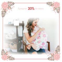 Les couvertures d'allaitement à partir de $8.49! L'offre à ne pas manquer! Cover, Fashion, Floral Fabric, High Chairs, Breast Feeding, Moda, Fashion Styles, Fashion Illustrations