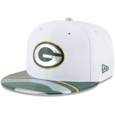 big sale 95dc9 06bef Green Bay Packers New Era 2017 NFL Draft Official On Stage 59FIFTY Fitted  Hat - White