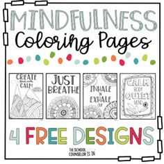 13 Free Printable Mindfulness Colouring Sheets ...