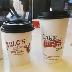 NY coffee from Cake Boss