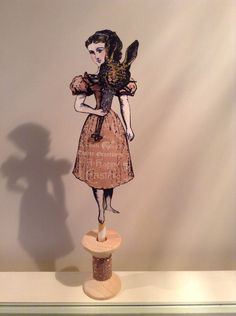 Character Constructions Art created by Florance Simpson.