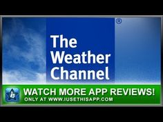 The Weather Channel iPhone App - Best iPhone App - App Reviews #iphone #apps #appreviews #IUT