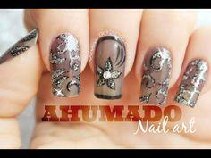 Decoración de uñas efecto ahumado - smoky nail art - YouTube                                                                                                                                                                                 Más