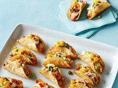 Get Red Snapper Mini Tacos Recipe from Food Network
