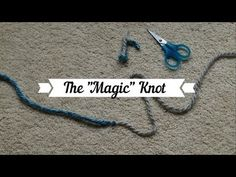 (11) Magic Knot for Loom Knitters - YouTube