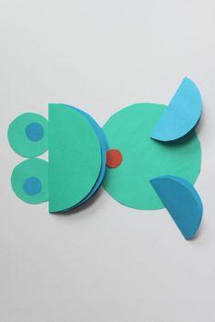 Origami z kółek cd. « Zabawy dla dzieci, rozwój dziecka