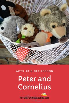 Acts 10 Peter and Cornelius Bible Object Lesson for Kids Sunday School Curriculum, Sunday School Activities, Sunday School Lessons, Sunday School Crafts, Bible Object Lessons, Bible Lessons For Kids, Peter Bible, Acts 10, Bible Crafts For Kids