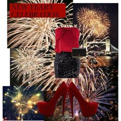 """""""NEW YEAR'S CELEBRATION FIREWORK"""" by mariemery on Polyvore"""