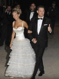 Michael Buble's wedding photos - Heart#michael-buble-and-luisana-lopilato-3