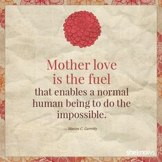 Mother love <3