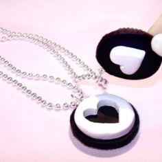 Oreo BFF necklace