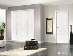Puertas Castalla - Picasso Interior Window Trim, Picasso, Tall Cabinet Storage, United Nations, Panel, Furniture, Home Decor, Flush Doors, White Doors