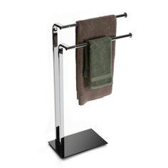 Toallero de metal con bordes redondos #toallero #baño #casa #versa | Metal towel rack with round edge #towel #bathroom #home #versa