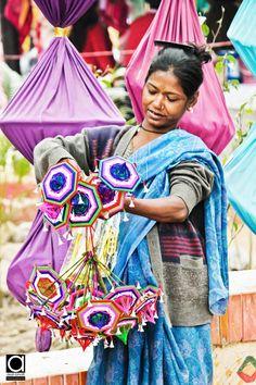 Toy Umbrella Seller, India