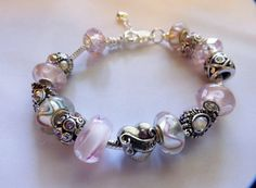 Pink Daughter European Style Silver Plated by BlingItOutLoudCharms