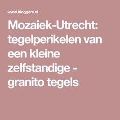 Mozaiek-Utrecht: tegelperikelen van een kleine zelfstandige - granito tegels