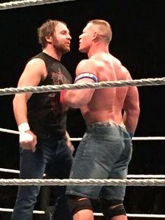 Dean Ambrose & John Cena