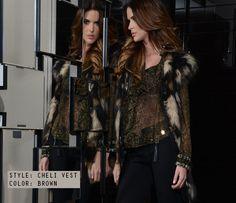 Faux Fur Cheli Vest Glamorous Fashion