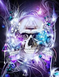 Freak Show pictures - Freaking News Skull Tattoo Flowers, Skull Tattoos, Funny Phone Wallpaper, Skull Wallpaper, Joker Kunst, Badass Skulls, Skull Pictures, Skull Artwork, Skeleton Art