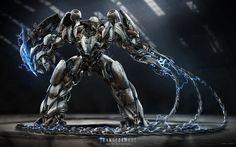Transformers: Age of Extinction Concept Art from Josh Nizzi