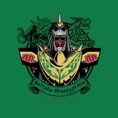 BATTALIA DRACOZORDUS T-Shirt $11 Power Rangers tee at RIPT today only!